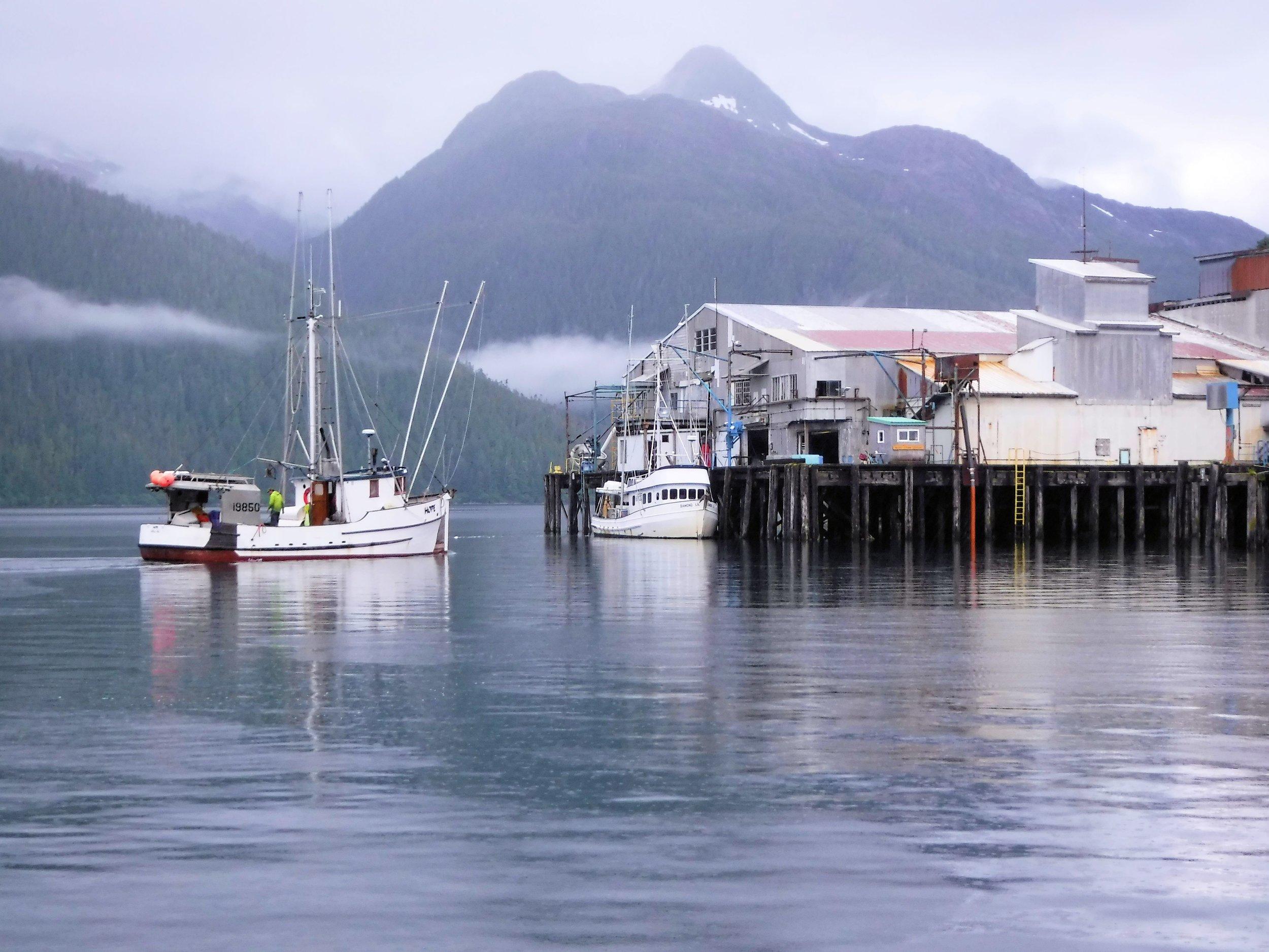 Fishing Boats in Pelican, Alaska