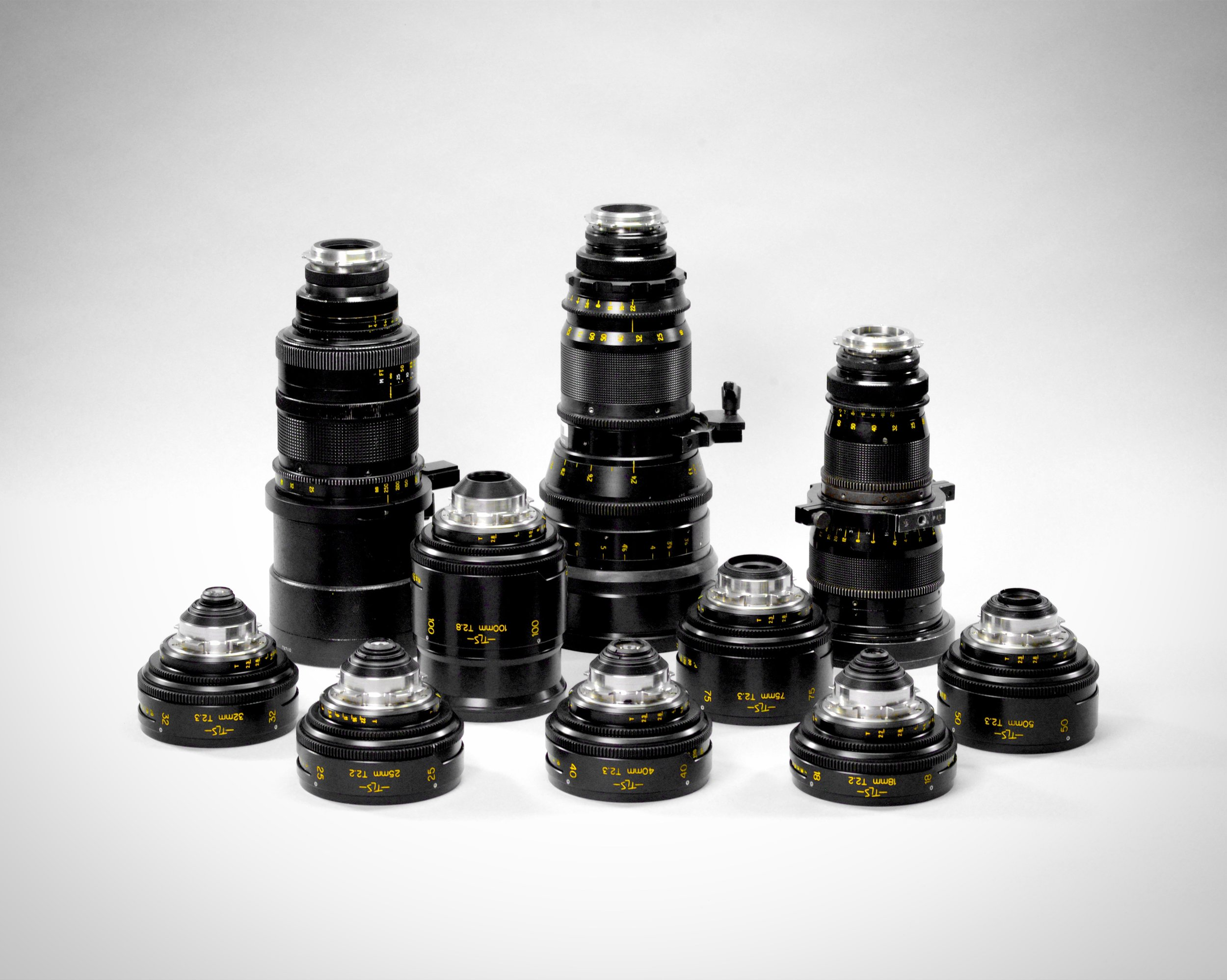 Vintage Cooke Speed Panchros Rehoused by TLS and Vintage Cooke Zooms