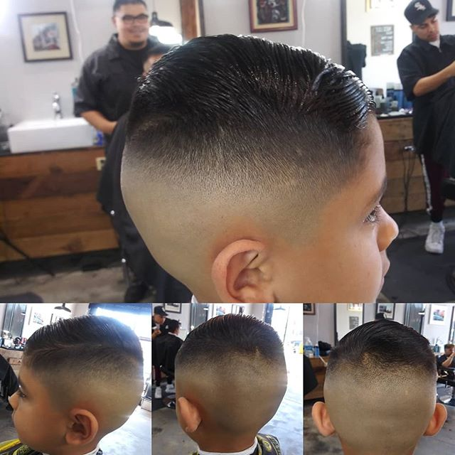 Briancuts High bald fade for the little homie.  @brianrosas809  Set up apointments Accepting walk ins.