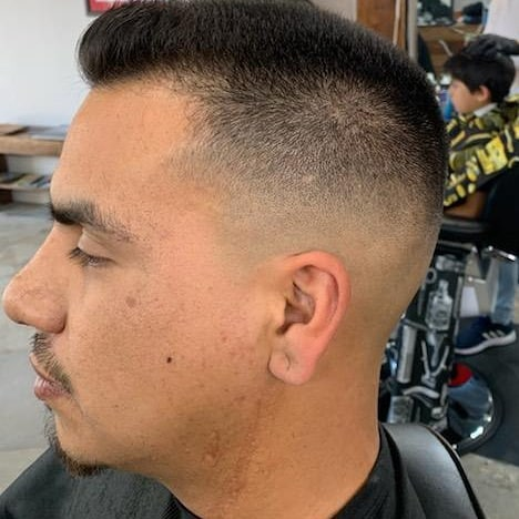 Looking to try a new haircut style.?? We are currently taking appointments and walk ins. DM @criscutsr for more info. Follow us @brooklynavebarberco