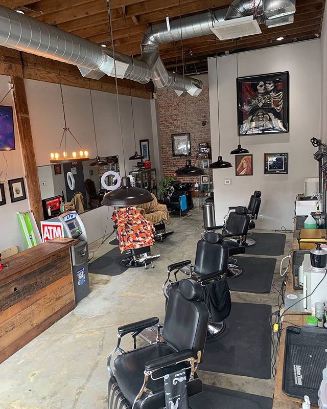 Looking for to get a new haircut.  Check us out @brooklynavebarberco , we currently have Hot towels, hot lather,  straight razor, etc. Make your appointment today,  we are also taking walk ins.