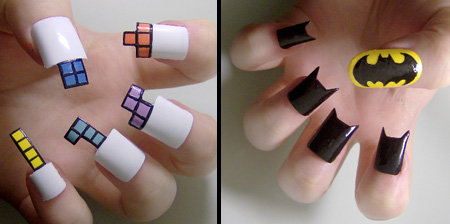 Google Image of Fingernail Art - there are millions of examples!