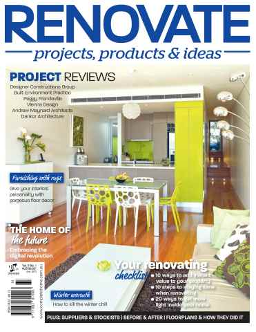 Renovate Vol.9 Issue 3