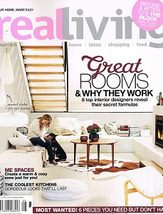 Real Living August 2011