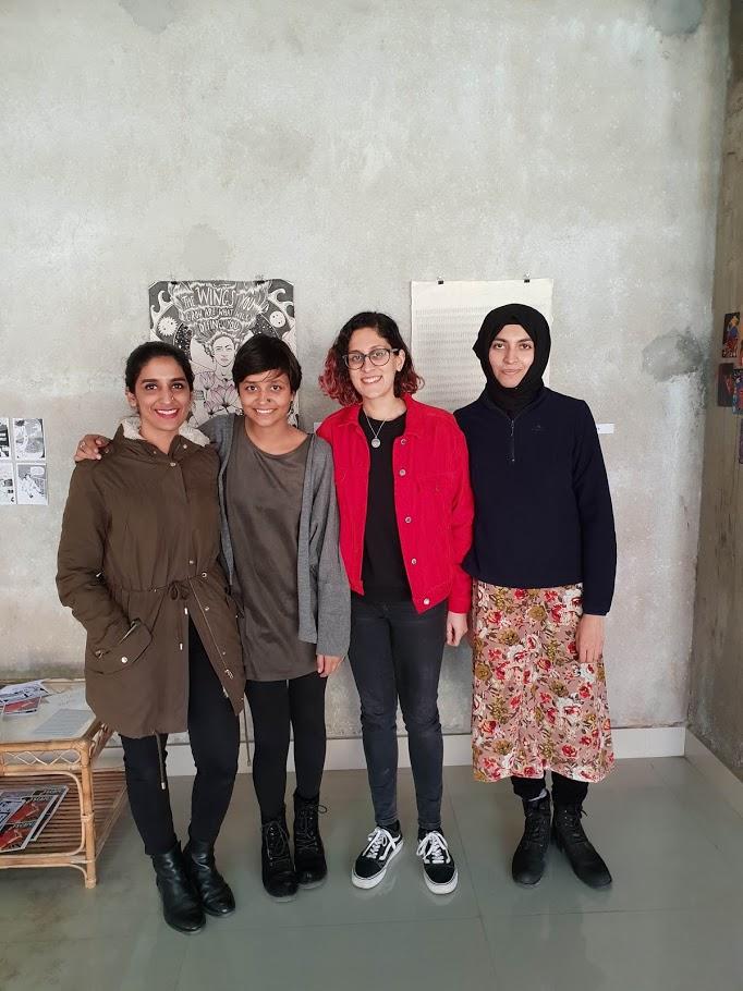 Shehzil, Rachita, Me, and Sofia