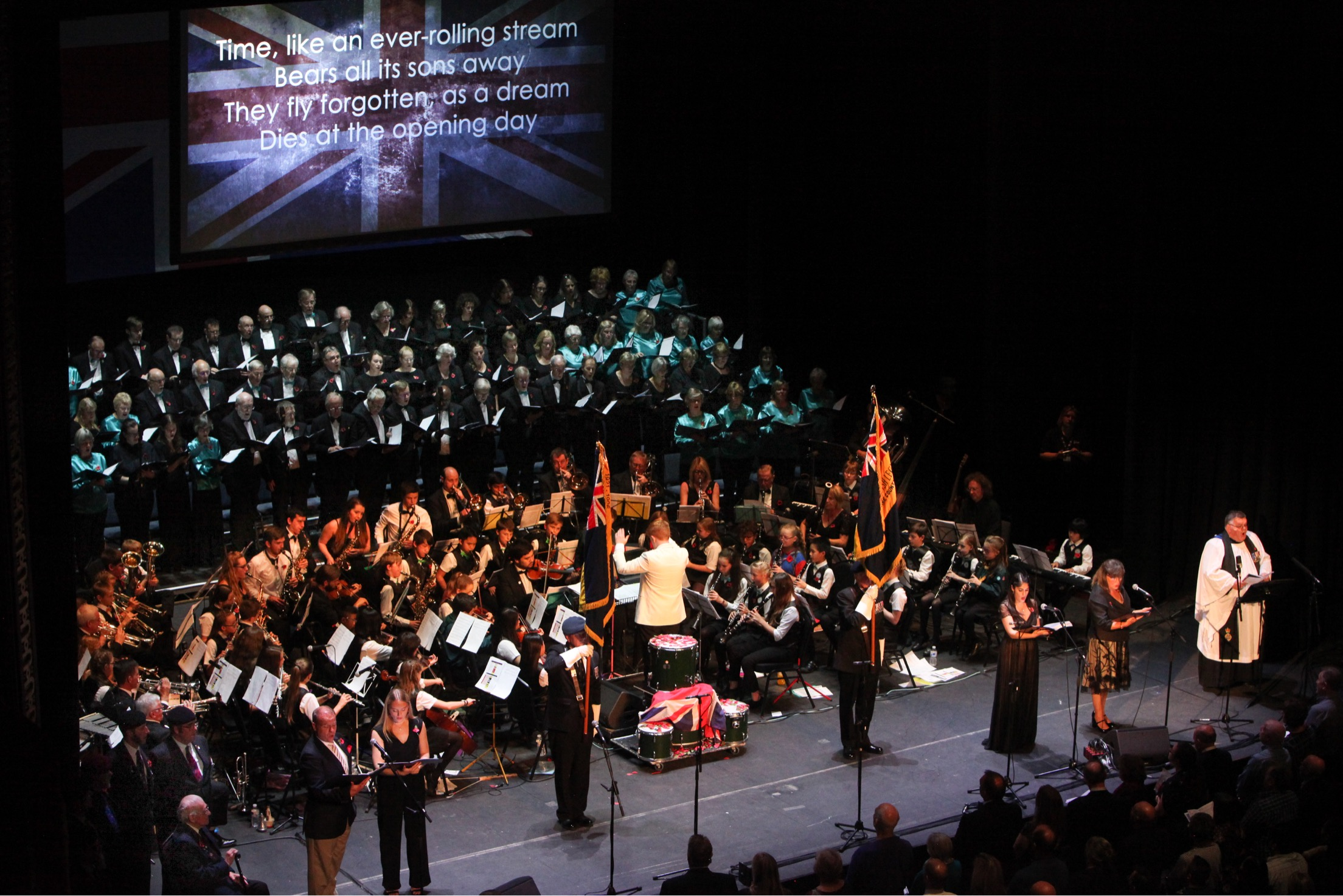 Festival of Remembrance, November 2018