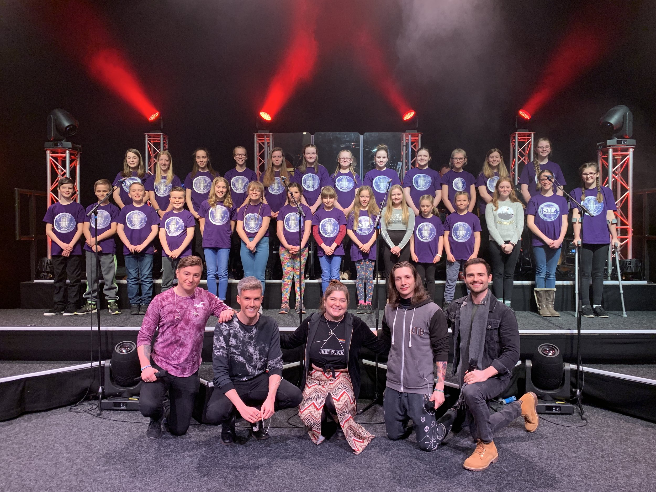 Showcase Young Voices Collabro