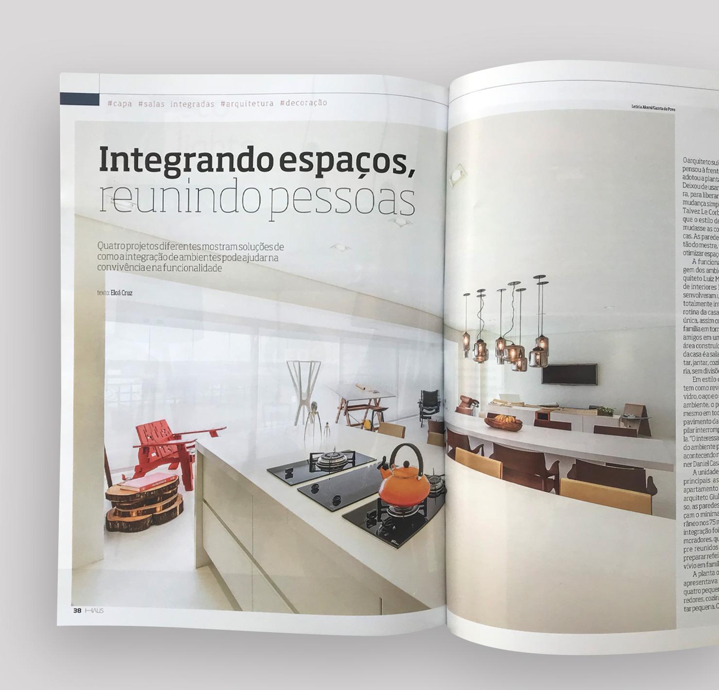 Apartamento Nuvem  HAUS Gazeta do Povo |  Link