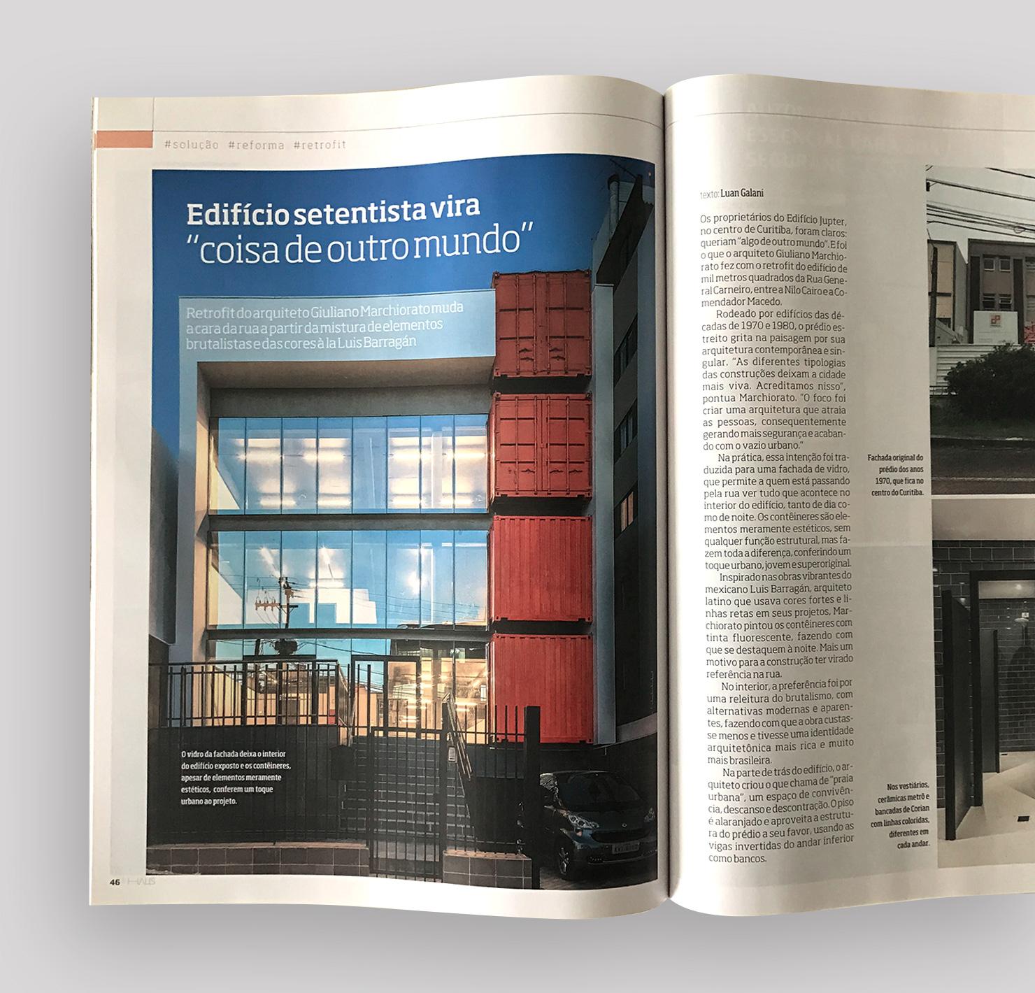 Edifício Jupter  HAUS Gazeta do Povo |  Link