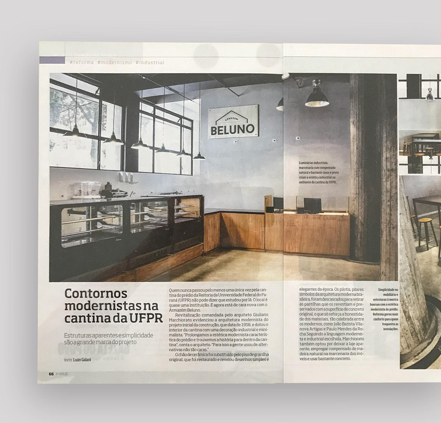 Cantina UFPR   HAUS Gazeta do Povo |  Link