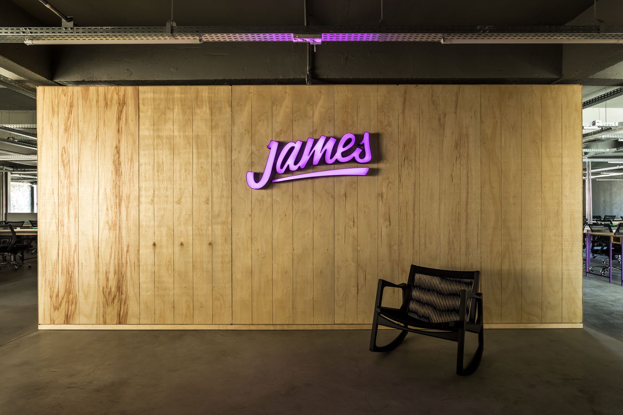 JAMES DELIVERY HEADQUARTERS -