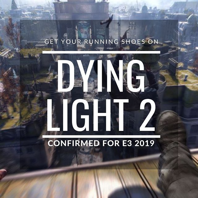 Who's excited for E3? Dying light 2 is confirmed to make an appearance at E3 2019, We can't wait to see what else is announced so that we can add to our #pcgaming collection! What are you hoping to see this year?  #dyinglight2 #e32019 #e3 #pcgaming