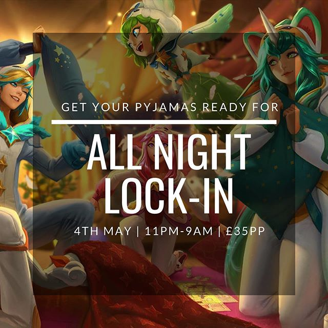All night lock-in happening right now! Come through and get your game on. 🕹 ~Samuel  #Brighton #Gaming #pcbanguk #pcgaming #Turnup