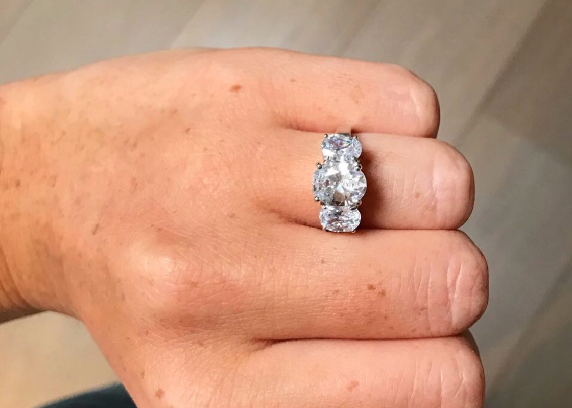 """Do think about your other half's other jewellery preferences - """"Platinum and white gold tend to be the most popular precious metals for engagement rings but the past 2 years have seen a huge trend in rose and yellow gold, especially after Meghan Markle went for yellow gold! Her 3-stone style ring is also making a comeback this year."""""""