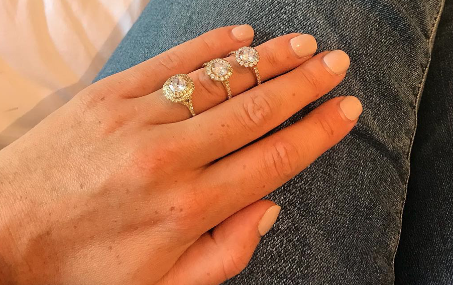 """Don't Assume You Have to Decide Alone - """"Normally when the man is choosing a surprise for his fiancée to be , the fiancée has already told him what she likes , or the fiancées best girlfriend will know too ! In the event of neither , we can adequately guide the customer here in our showroom for the engagement ring."""""""