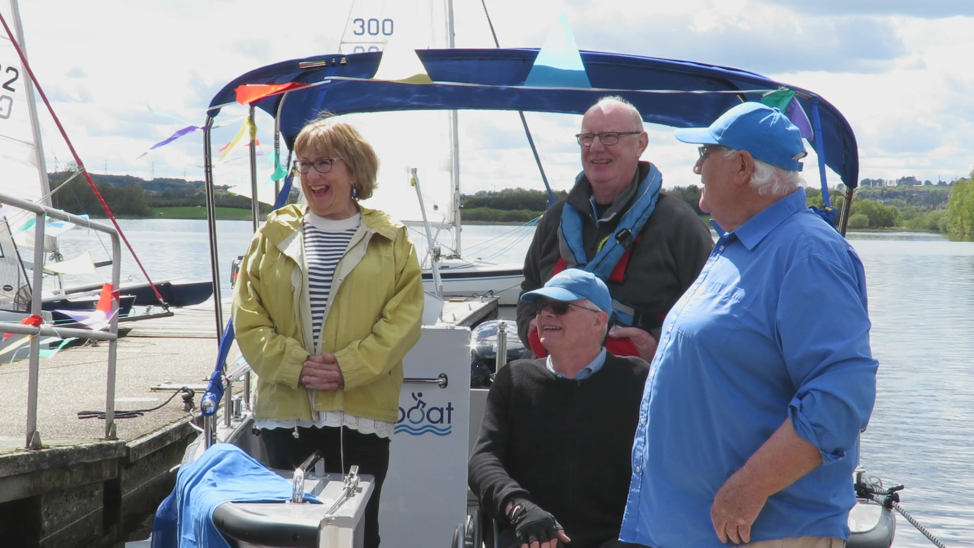 Annabelle Ewing MSP was guest of honour and declared the V20 officially launched.