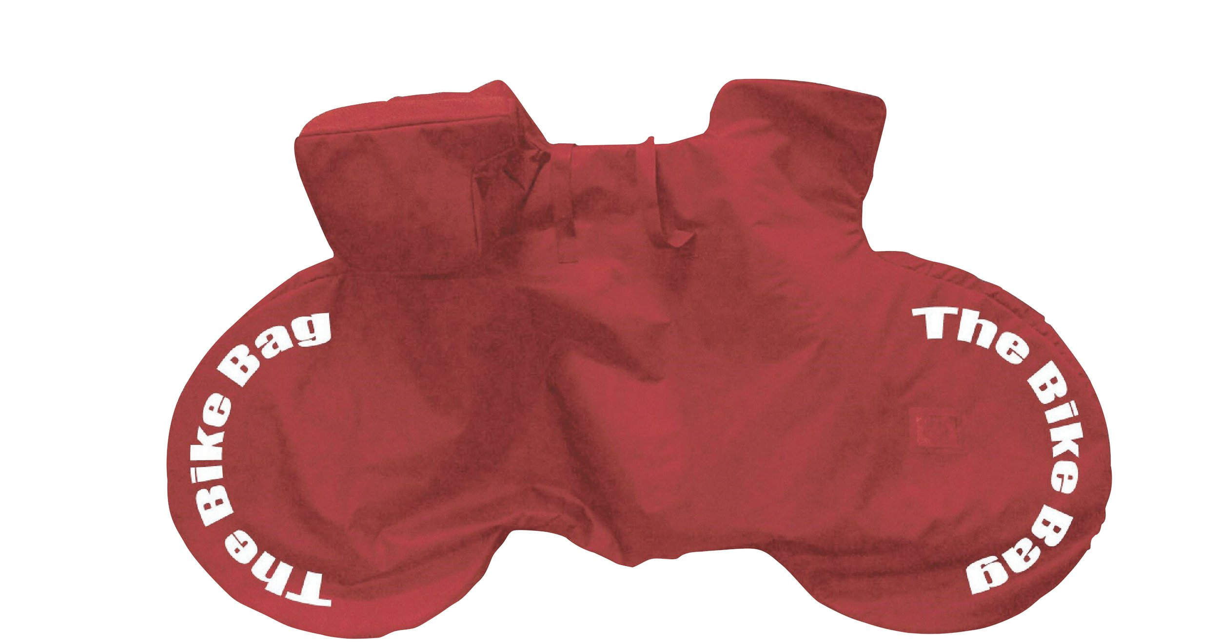 Standard Non-Padded Red Bike Bag