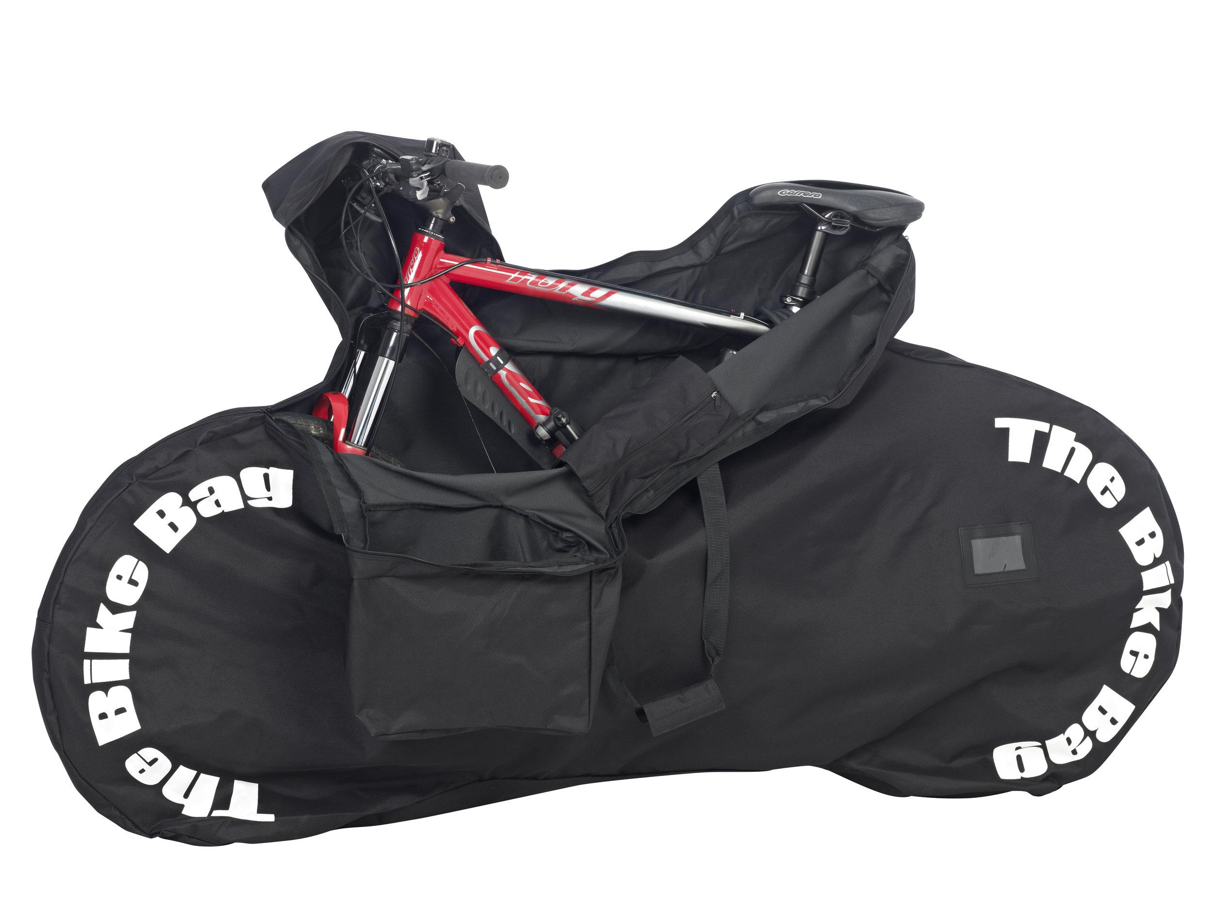 Standard Non-Padded Black Bike Bag