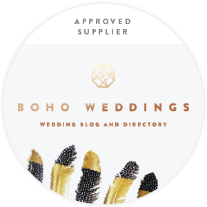 Boho Weddings Approved Suppier badge 300x300.png