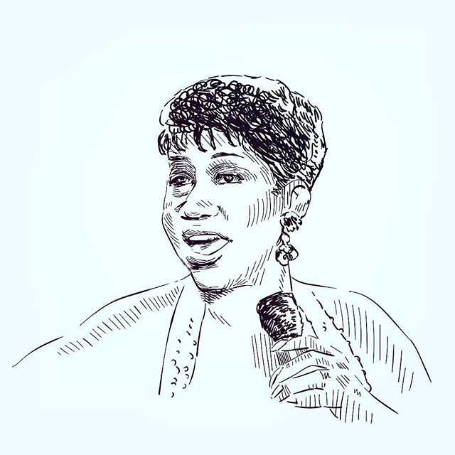 The Queen of Soul was celebrated yesterday in an eight hour service where friends and family gathered in her memory. Aretha is a true inspiration to Women making their own way, building bridges and breaking barriers, not only in the music industry. Let's keep her memory alive for our daughters and for her. Respect. #music #creative #bosslady #respect #womeninbiz