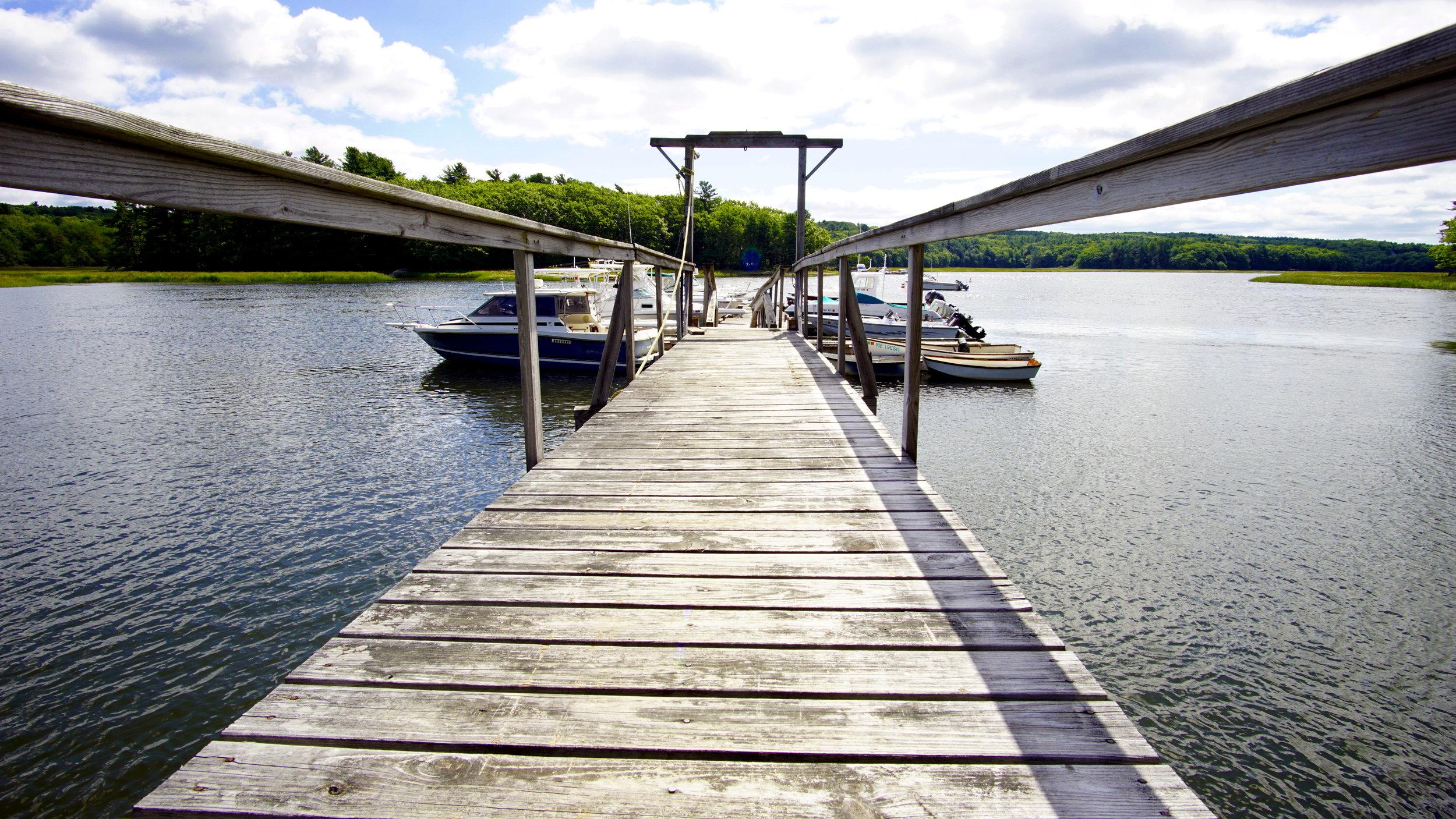 Back river boatyard docks