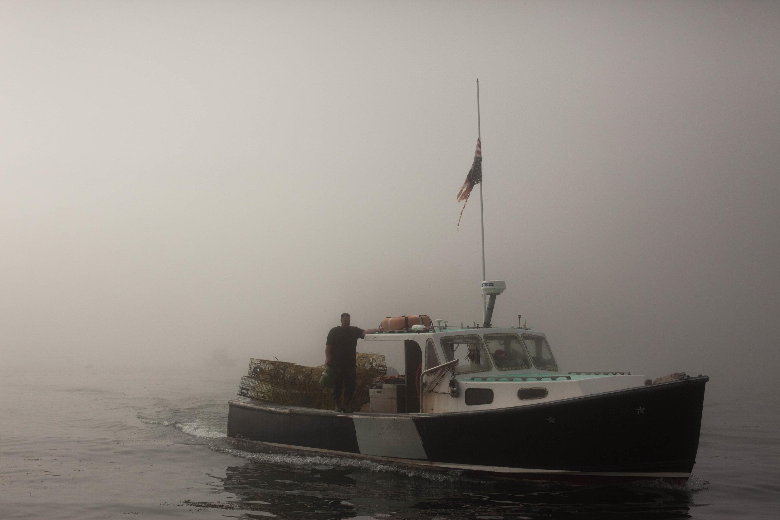 Foggy Five Sslands morning