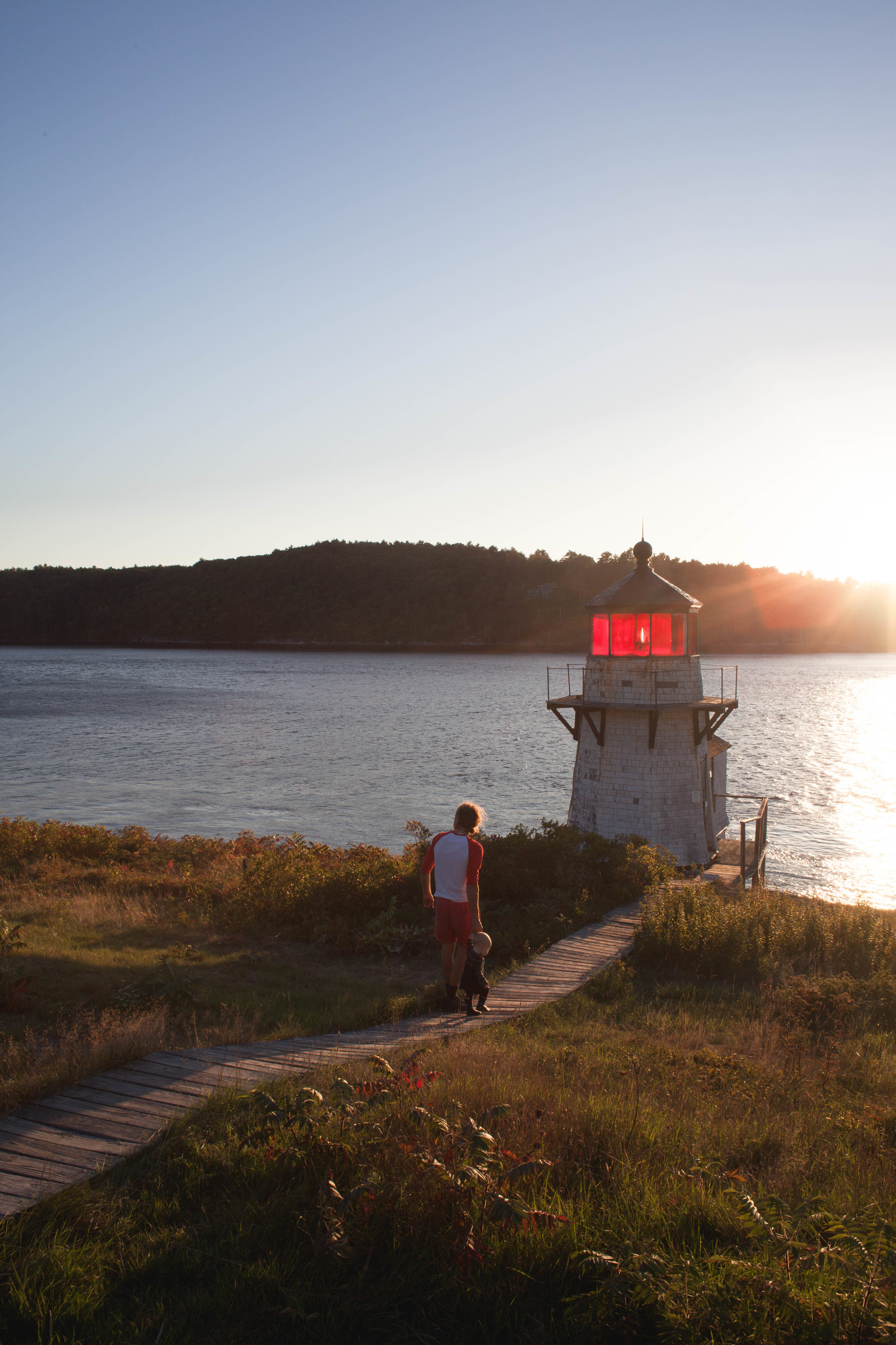 Squirrell Point lighthouse