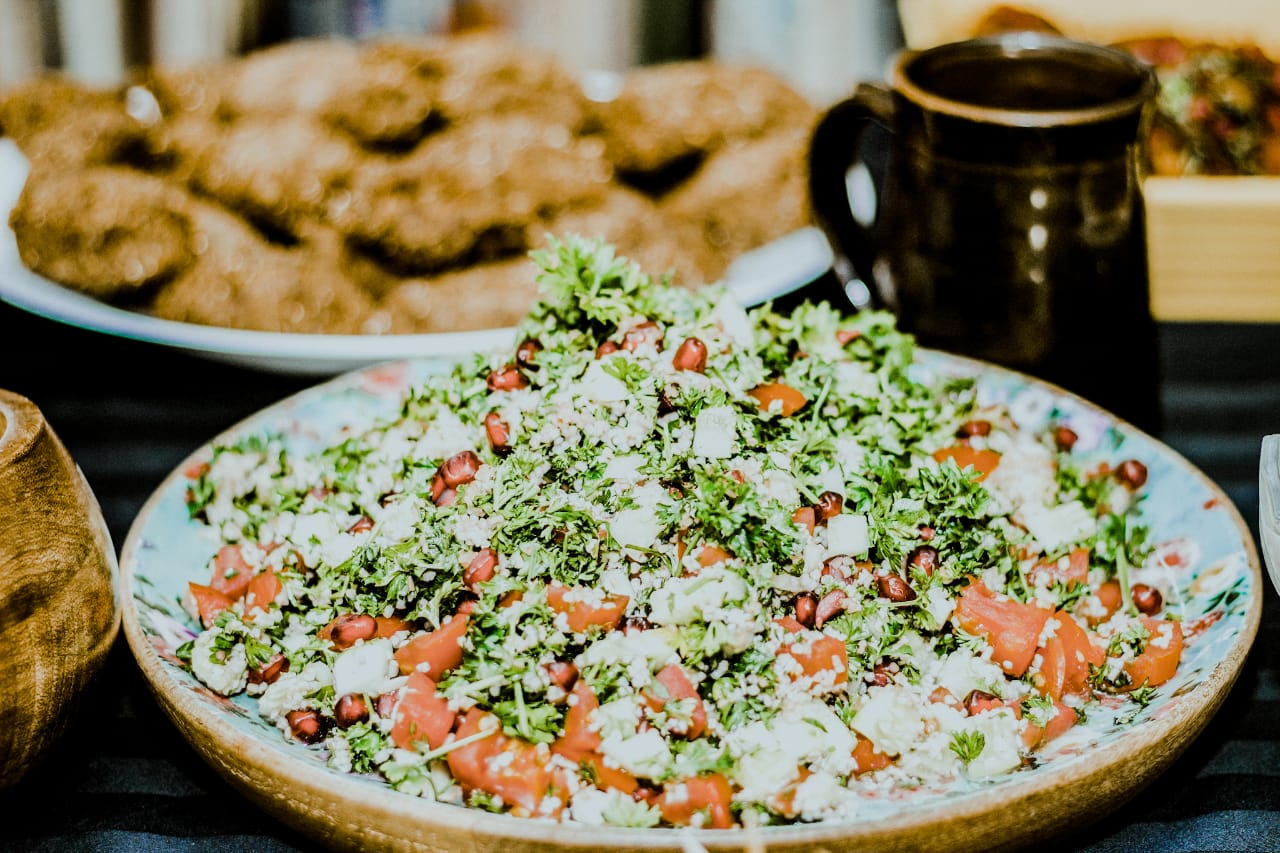 The classic middle eastern salad made with Tabbouleh