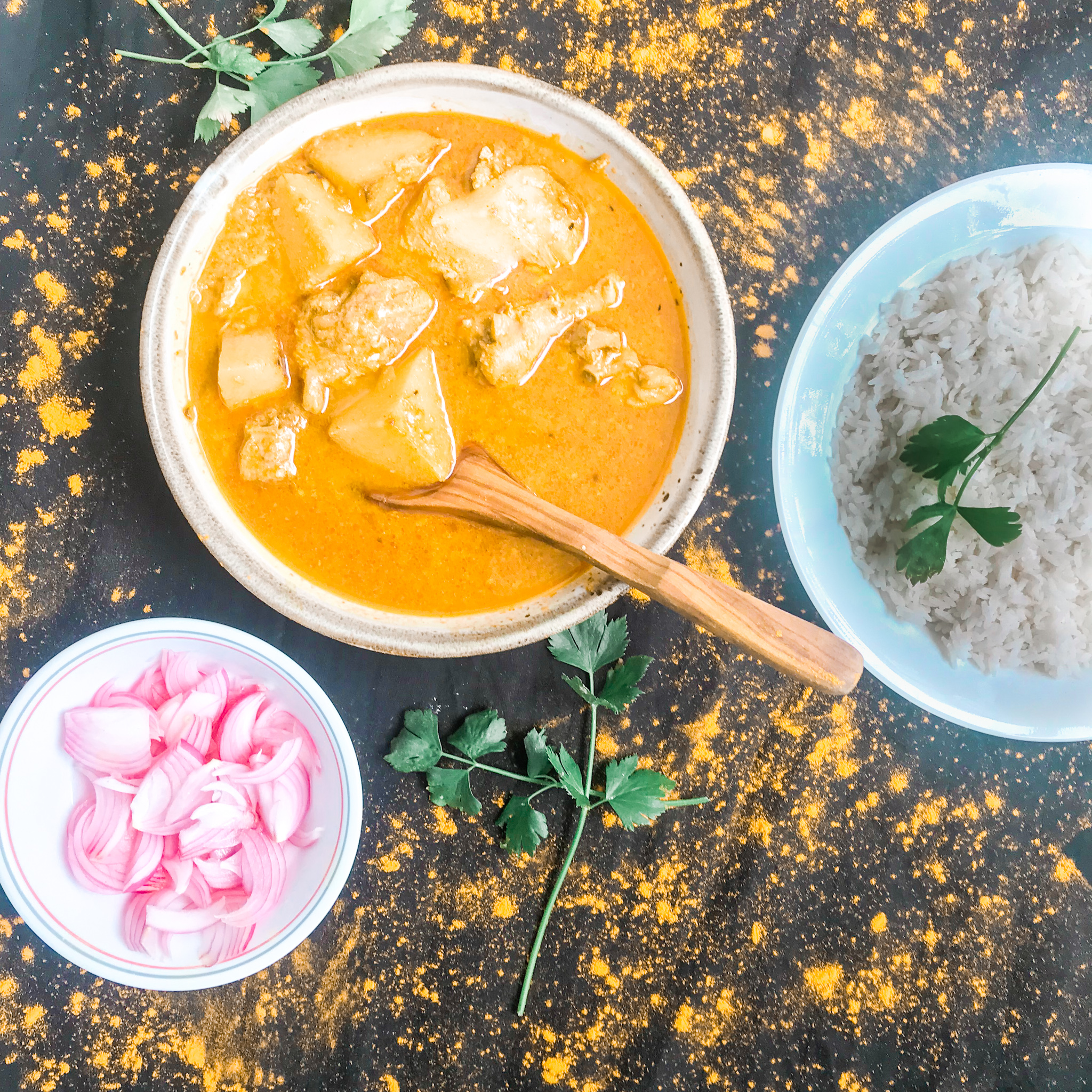 This chicken curry is so good , you may want to make it every week
