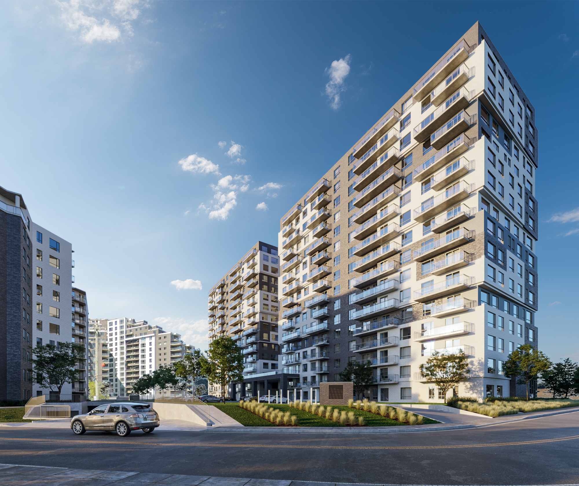 Kingswood Apartments: CITE URBAINE LASALLE