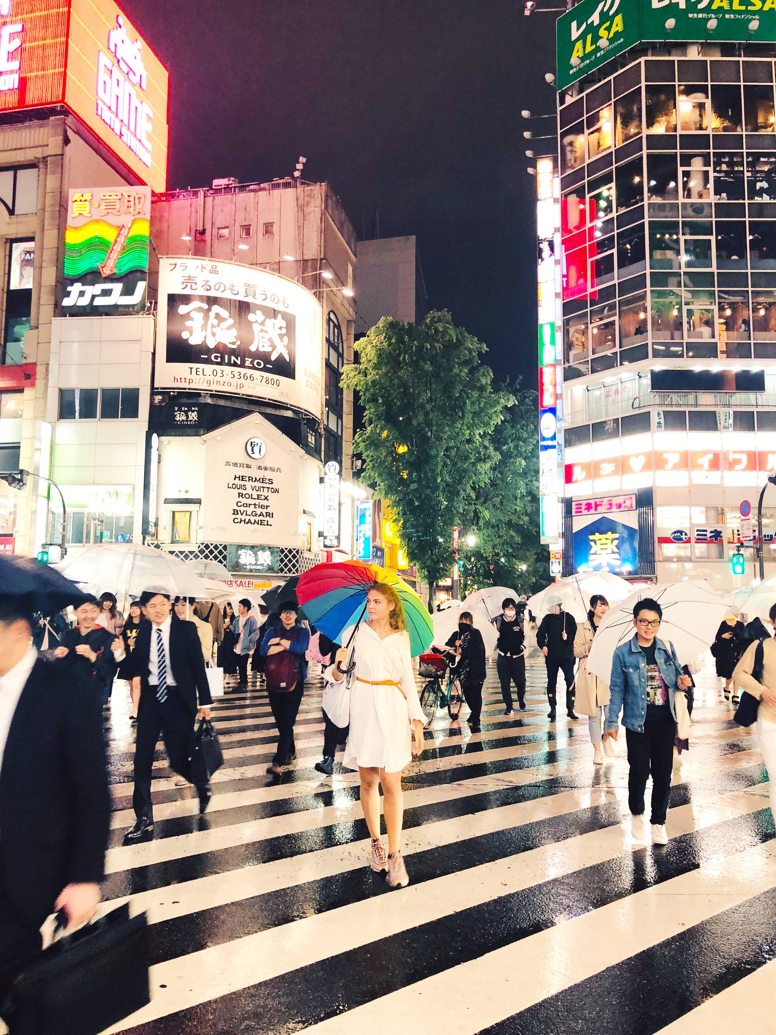 4.let there be light - Make sure to make it to Shinjuku – Kabukicho even if it is raining. In fact it is even cooler when it is raining as the colors of the light gets reflected in the wet streets.