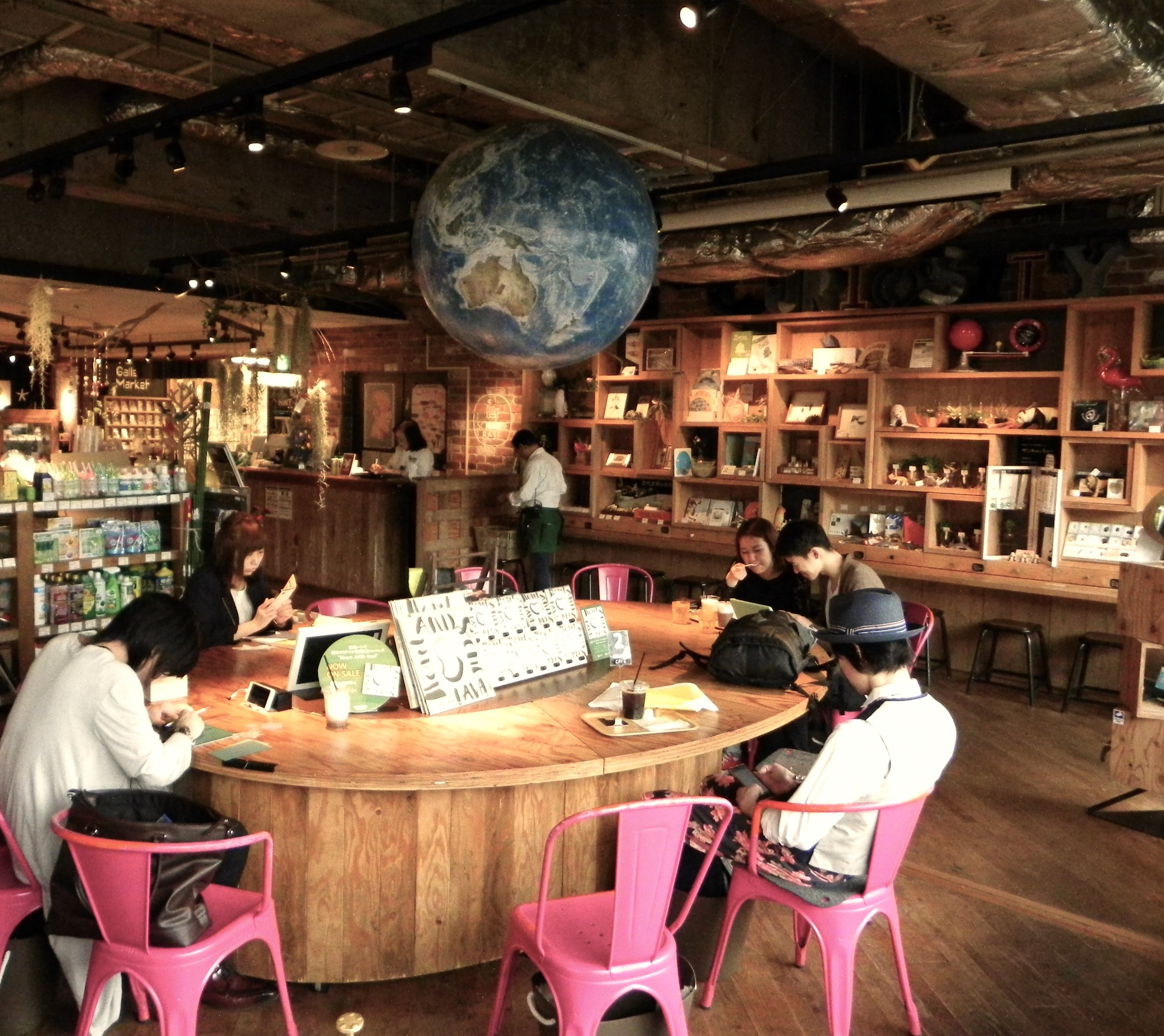6.Tokyu hands - This might be our favorite place of all in Tokyo. Tokyu Hands is an entire building filled with absolutely everything from DIY things, to plants, to suitcases, to books, to food... Here we have found things we have never seen anywhere else before. Go check it out!
