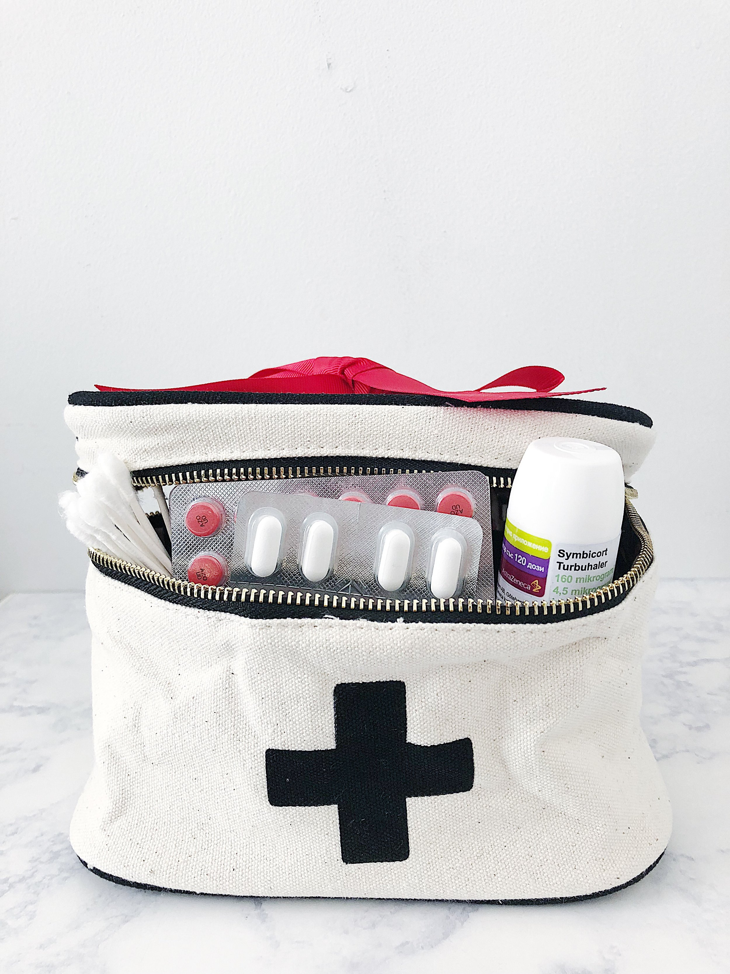 - Prepare a health kit! We never now when we need it. Pack a few cotton sticks, band aids, aleo vera, and pain relief so you are ready when you need it.