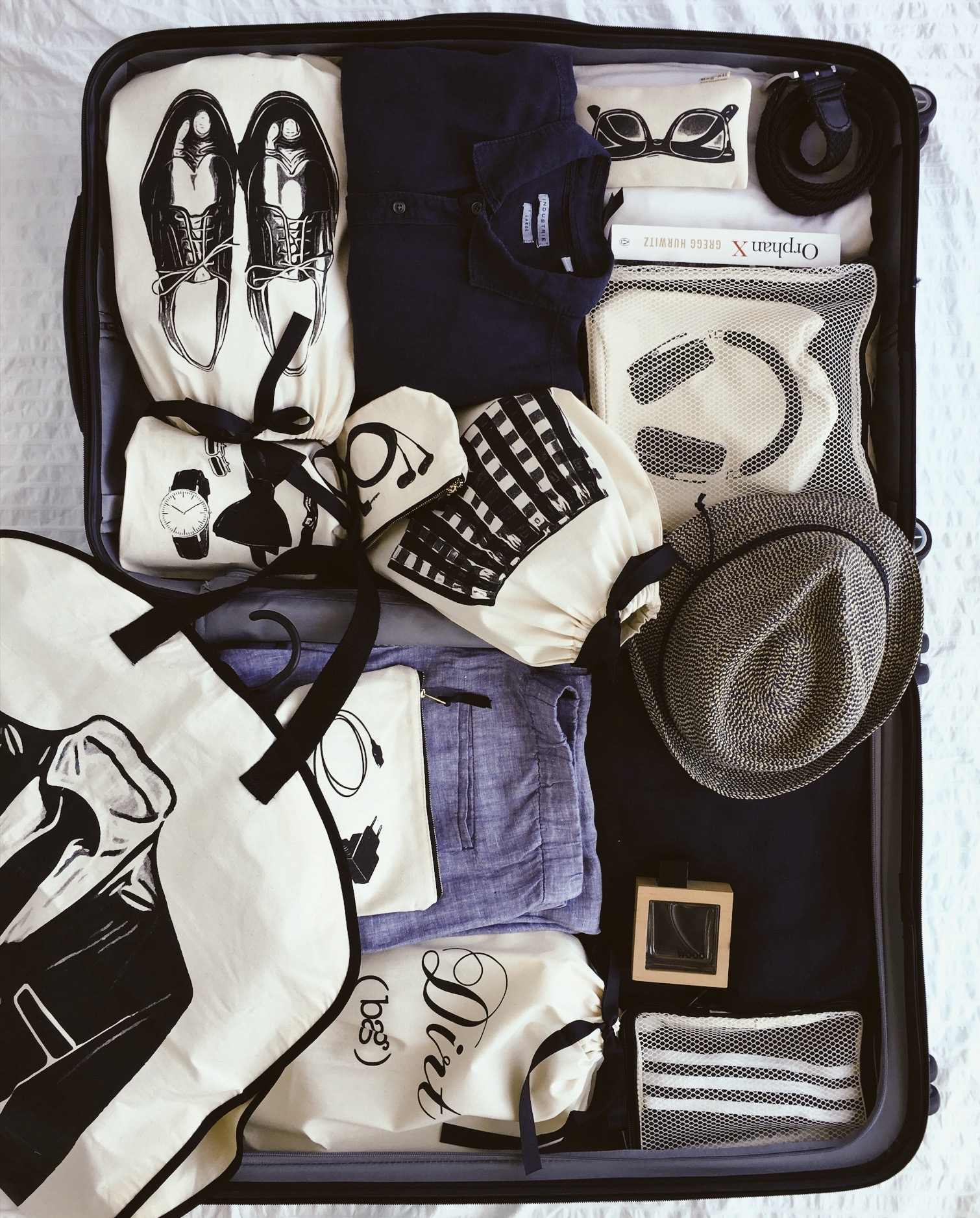 What are your best packing tips? - To be honest, I am a terrible person when it comes to packing. I do it the very last minute and I am always worried I've packed too much, too little or simply packed wrong things. But Bag-all's Packing cubes make it so much easier and I don't go anywhere without my NYC Laundry bag.