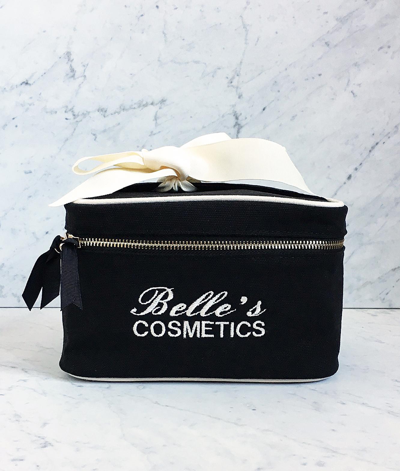 blank beauty box small black bag-all.JPG