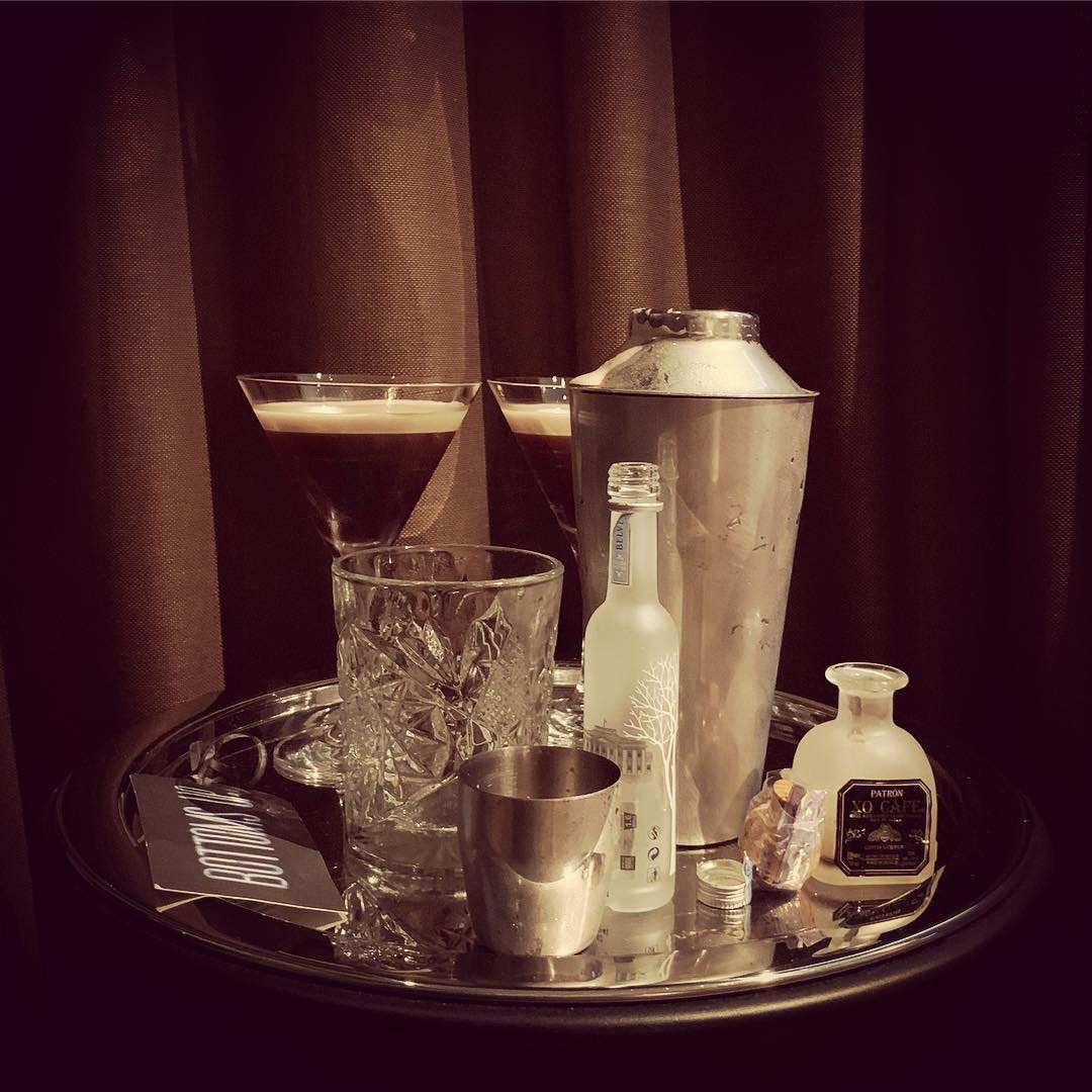 espresso martini - A much appreciated complimentary kit in our room.