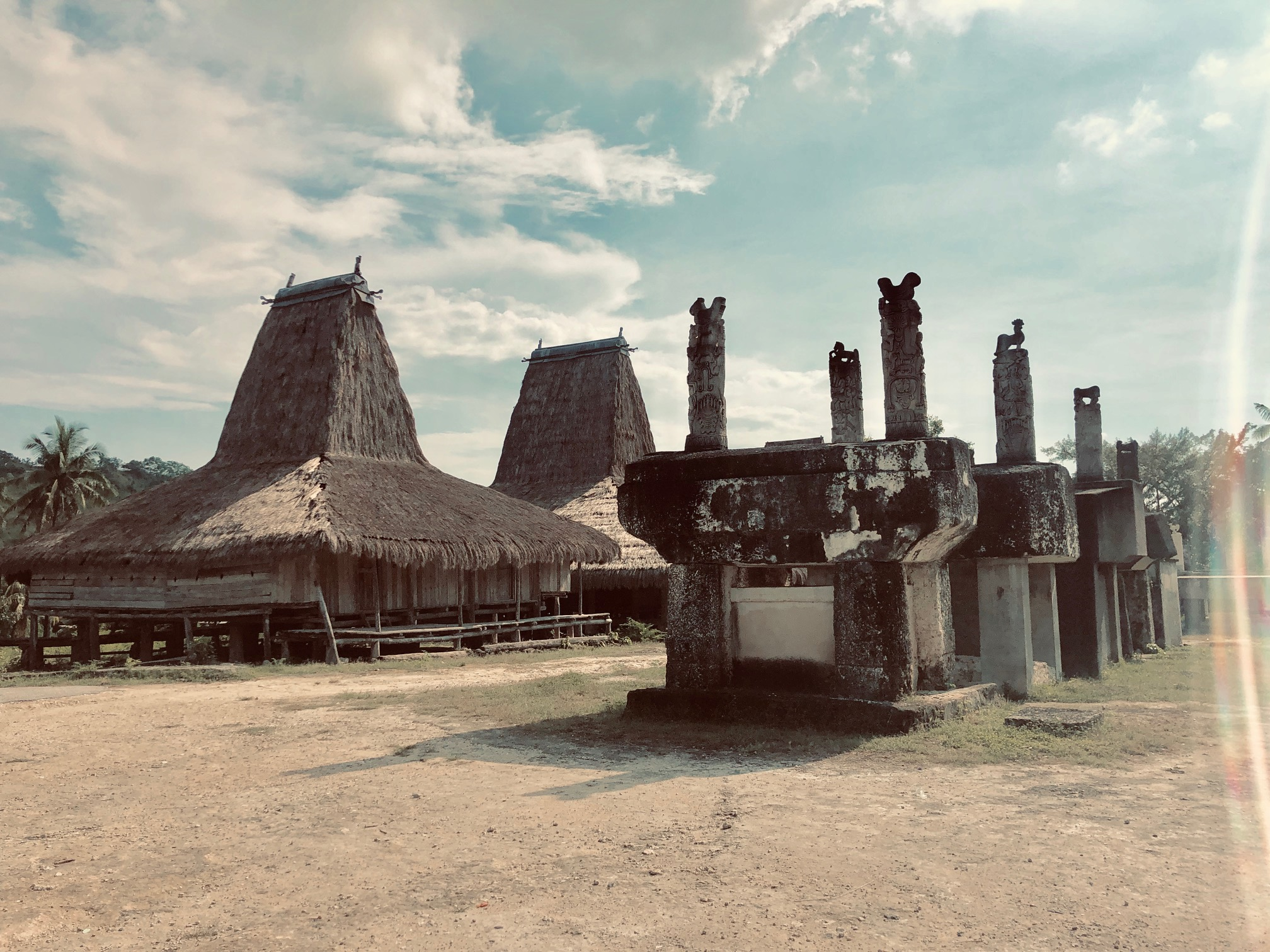East Sumba - the kings village
