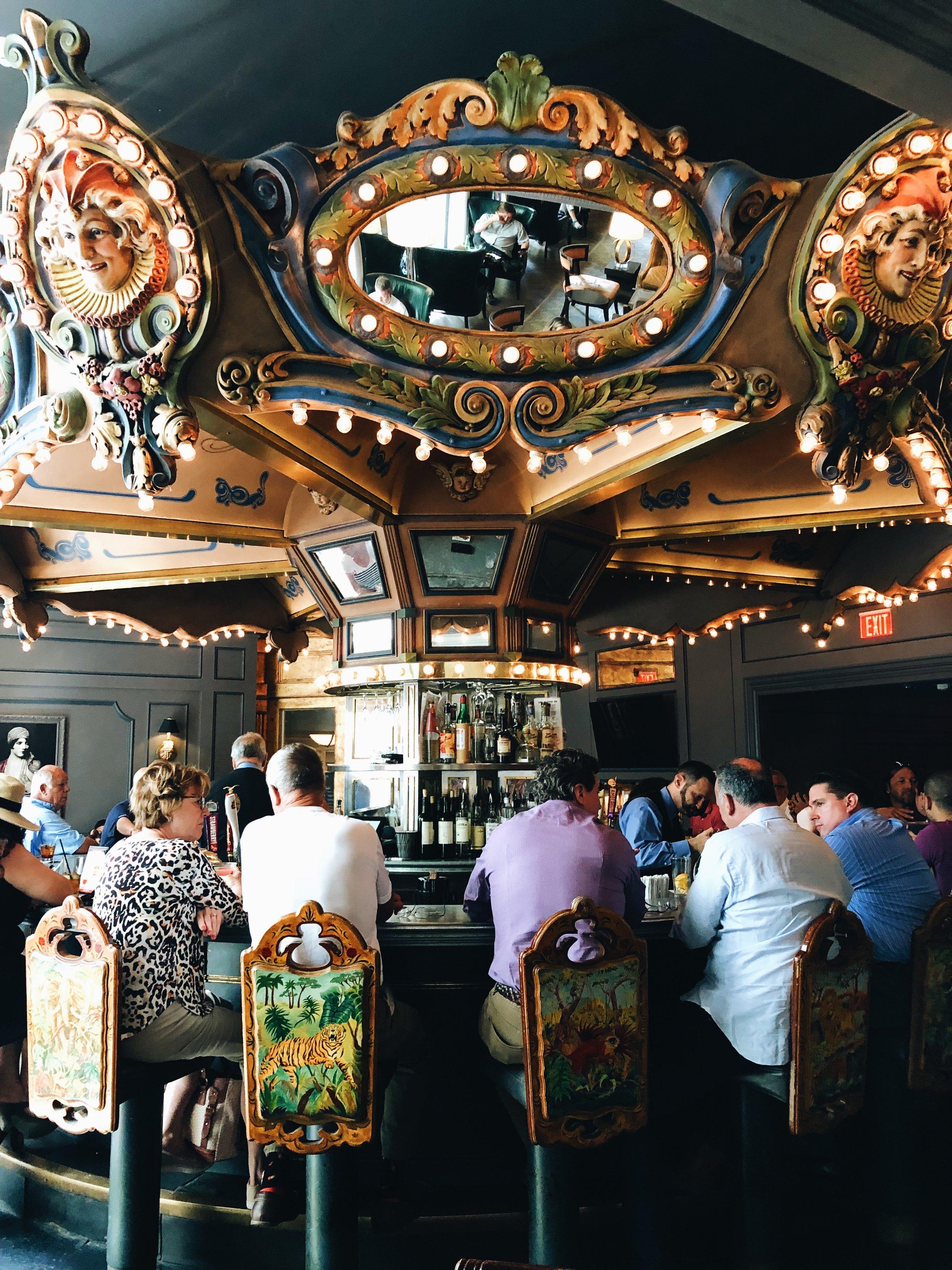 - Carousel Bar