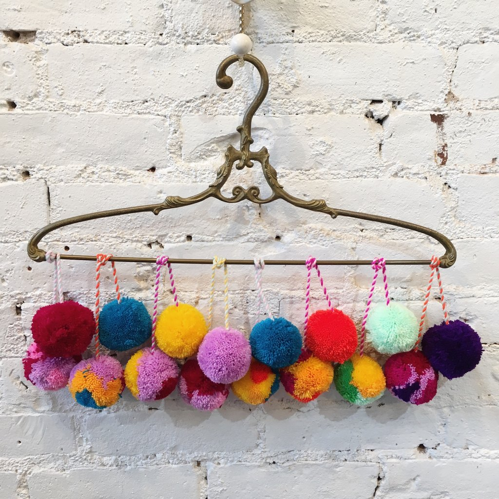 Not your cup of tea? - Bag-all has ready made Pom Poms if you don't consider yourself being the crafty person