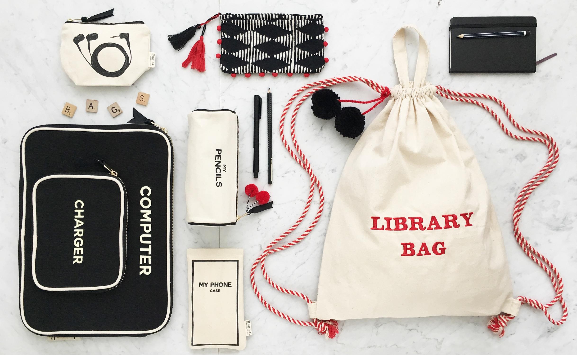 Blank Drawstring Backpack, black computer case, eatbuds case, pom pom shade, pencil, phone case mood bag-all.JPG