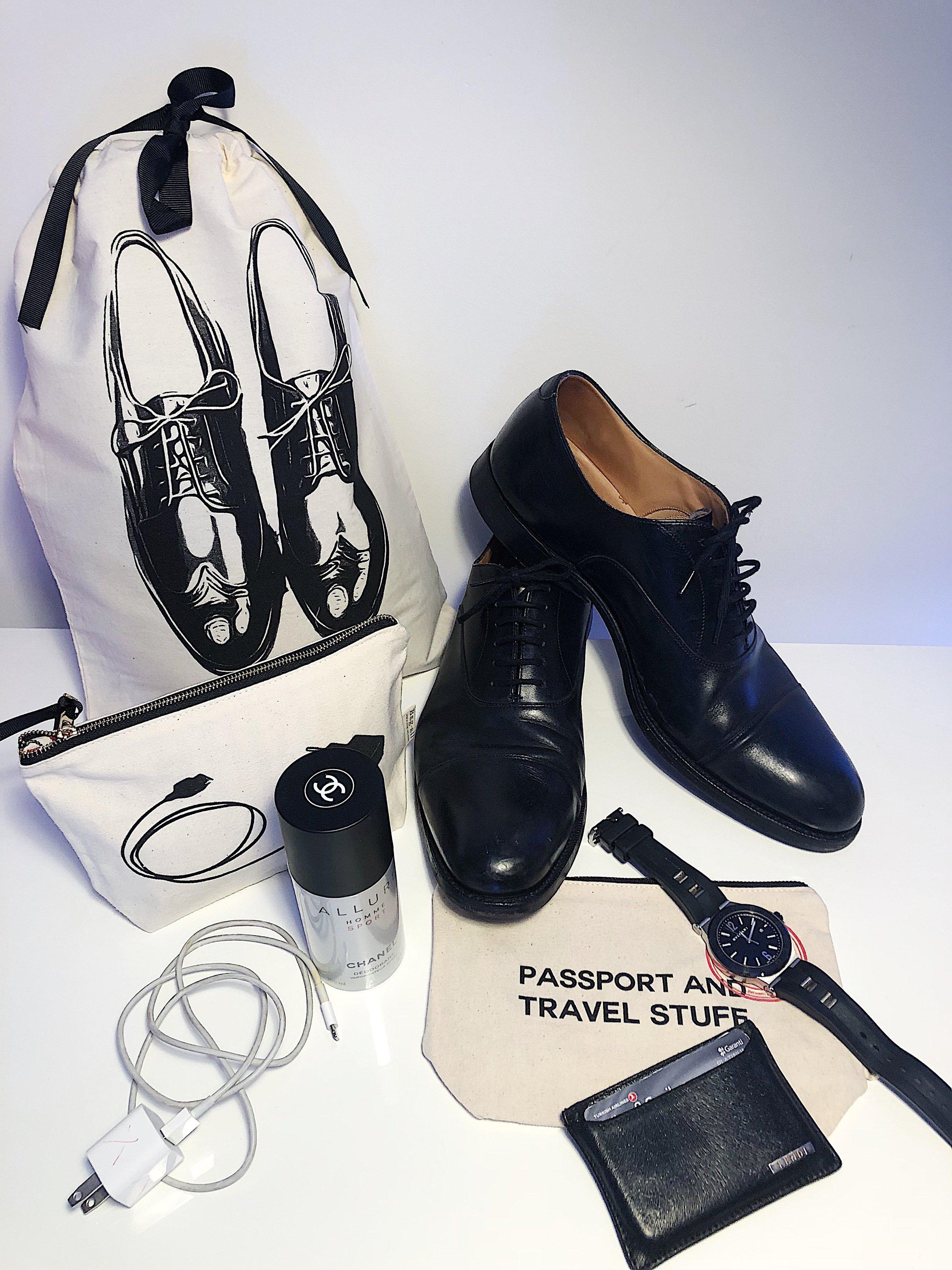 men's shoe bag, charger case, passport case mood bag-all.jpeg