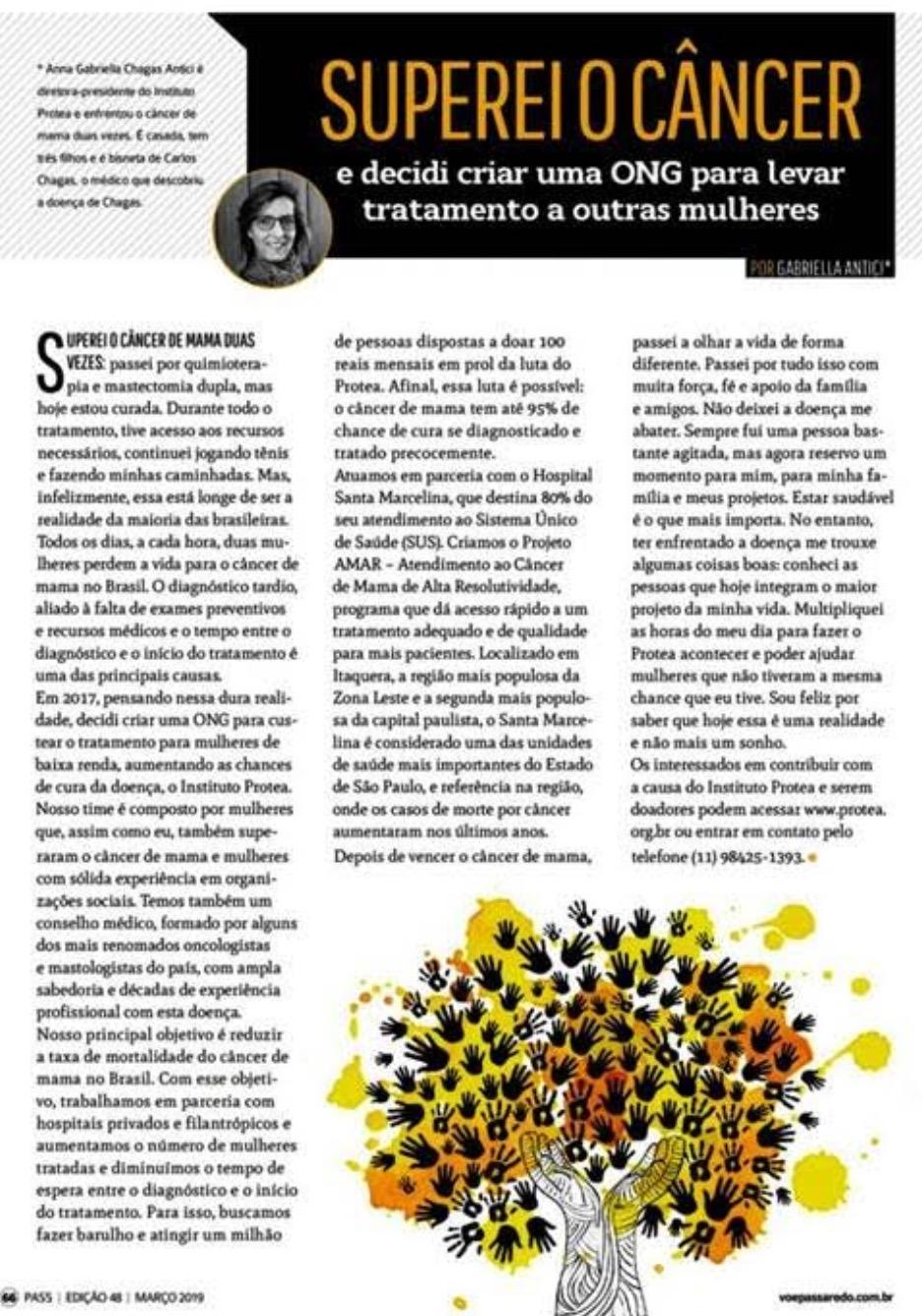 Artigo sobre o Instituto é publicado na revista Pass - Clique na imagem para saber mais!