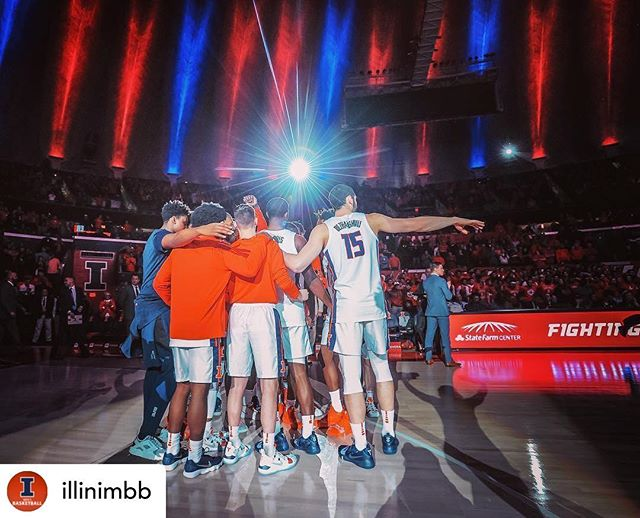 WE'RE SO EXCITED!! I-L-L 🔶🔷 Posted @withrepost • @illinimbb 2️⃣1️⃣1️⃣ days until the 2019-20 season begins.  See you soon, #Illini Nation. 🔶🔷