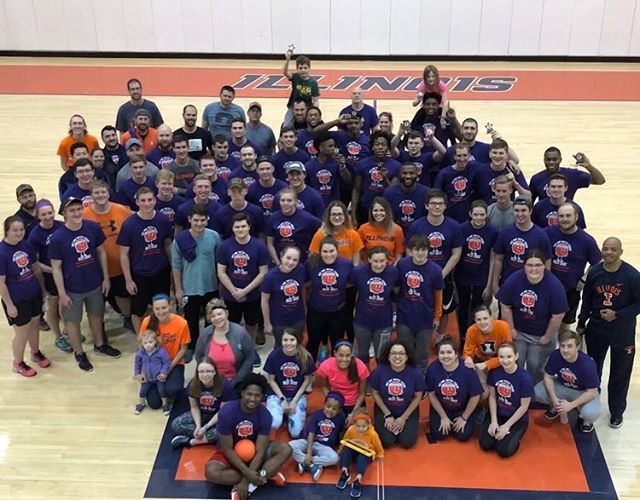 Our dodgeball tournament was a success! Between this tournament and the one we had in the fall, we were able to raise over $1000 for @epilepsyfdn . Big thank you to everyone who came out and congrats to @illinimbb on winning the tournament.