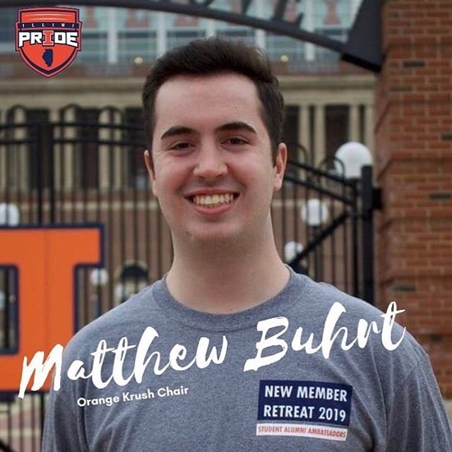💥Krush Exec Spotlight💥 Matthew Buhrt is joining the Orange Krush Exec Board for his Junior year. Matthew is a finance major, and loves having the opportunity to watch D1 basketball court-side with his friends. He is thrilled to play a part in giving students an amazing experience watching Illinois basketball. Welcome to the team Matthew! 🔶🔷