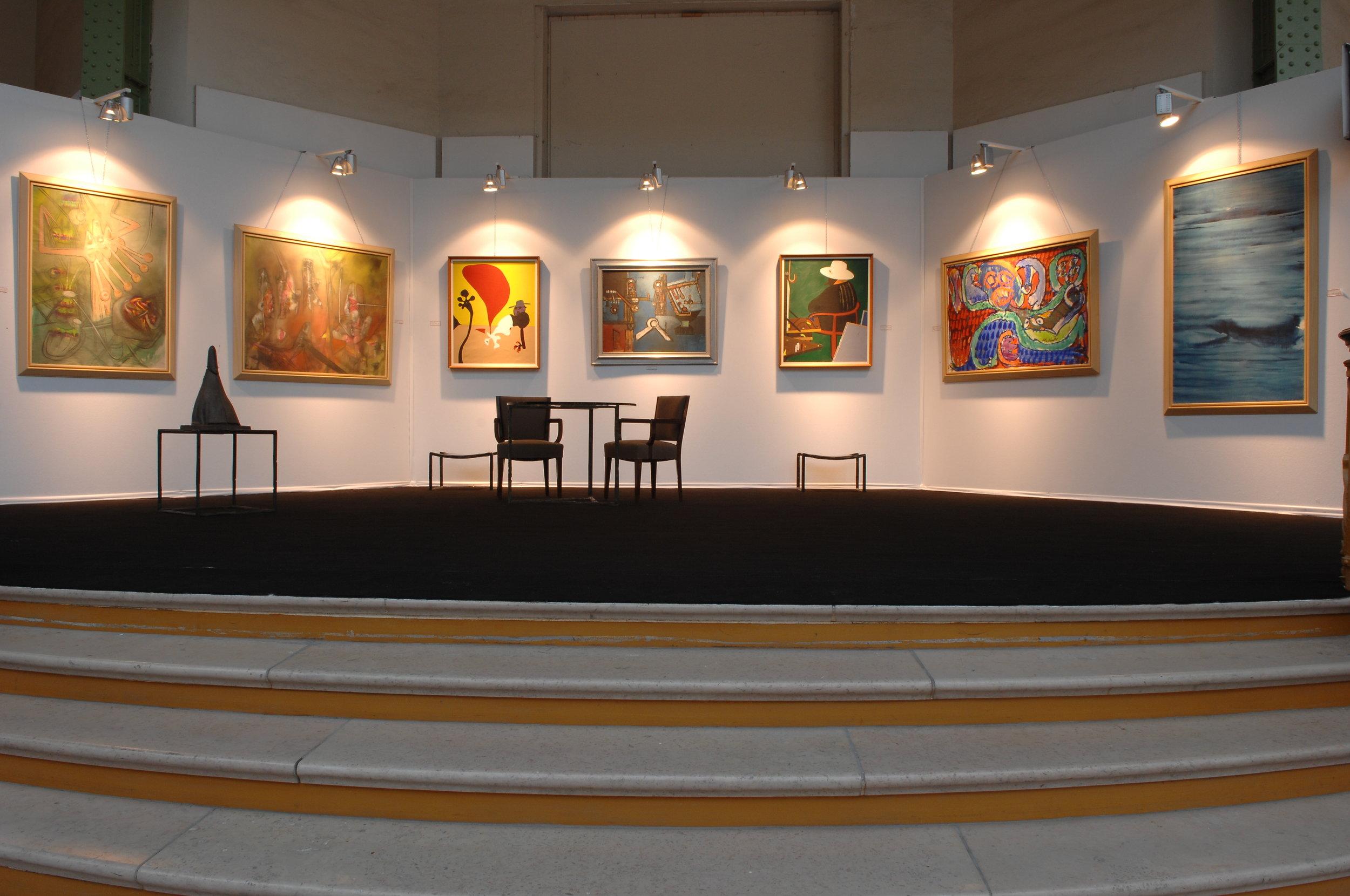 Art Paris, Grand Palais, 2008 - Alechinsky, Arroyo, Matta