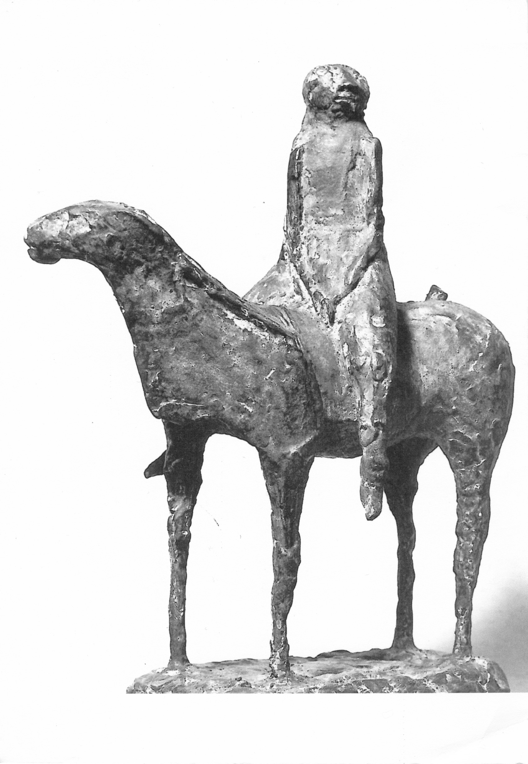 - Little Cavalier, 1947Illustrated catalogue sculpture, Spoleto, 1962