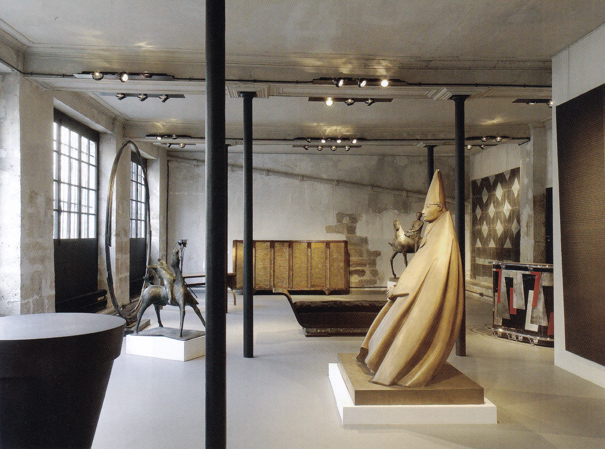 The 2008 exhibition of works by Marino Marini and Giacomo Manzù at Galerie Dutko, Paris, 2008, in honour of the 100. Cardinal, now in the collection of the New Orleans Museum of Art.