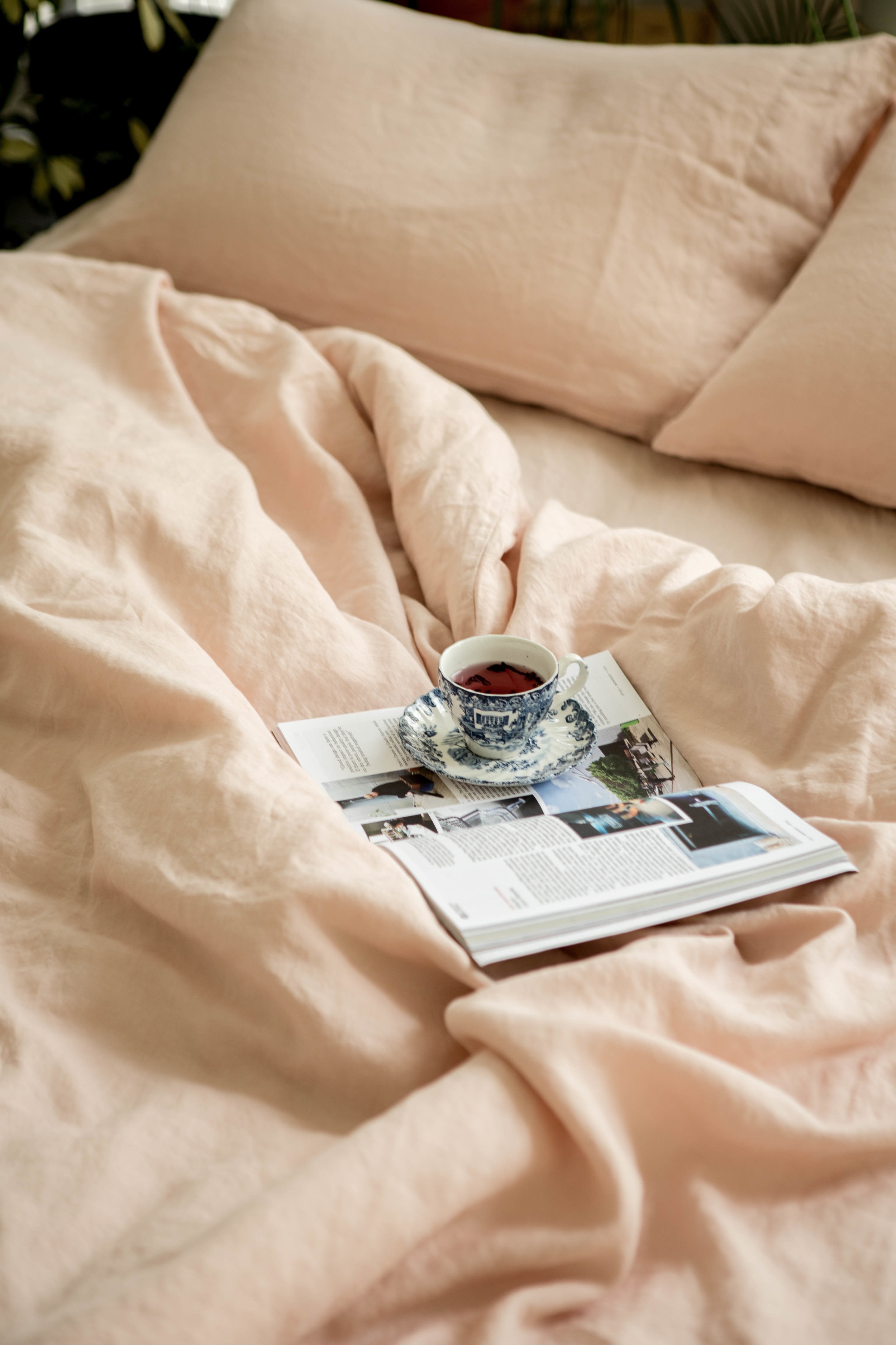 Commissioned for Sunday Bedding's new linen collection, 2019  Art Direction, Styling & Photography: Rachel Loh