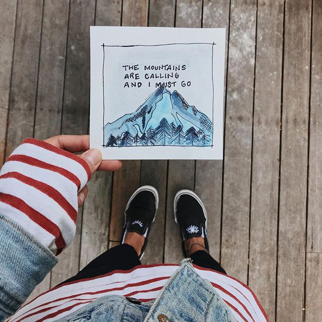 Commissioned for @dfreddy.127 - - - #watercolor #etsyseller #typography 🏔
